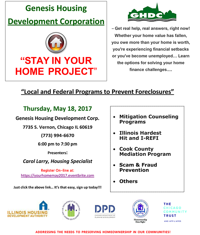 Foreclosure Prevention Flyer 5-18-17