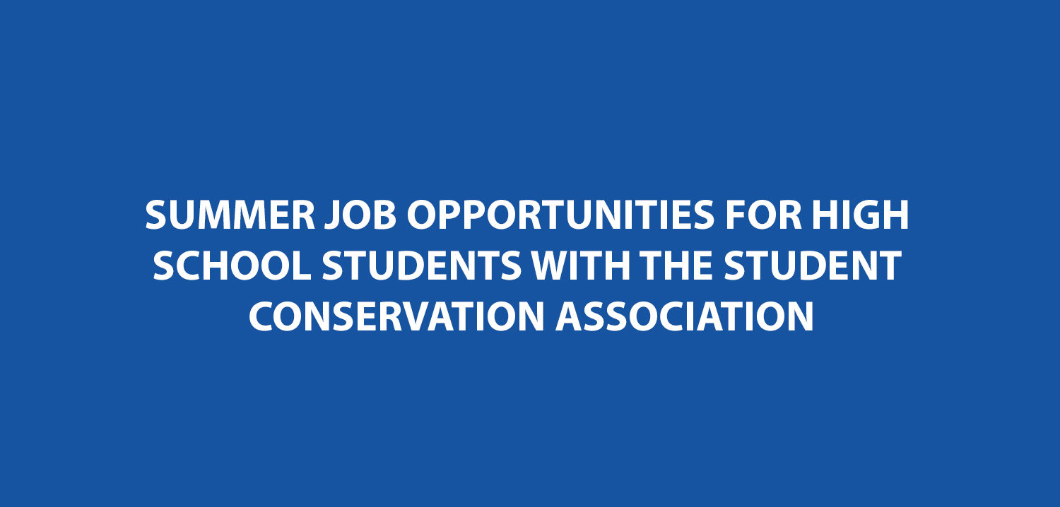 Summer Job Opportunities for High School Students with the Student ...