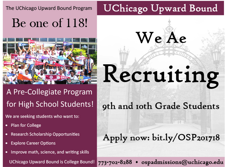 We are Recruiting 9th and 10th grade students.pub