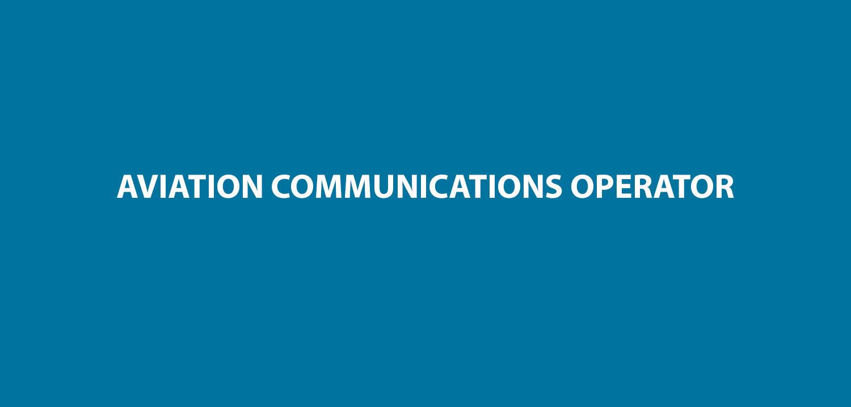 Aviation communications operator 6 ward 1betcityfo Gallery